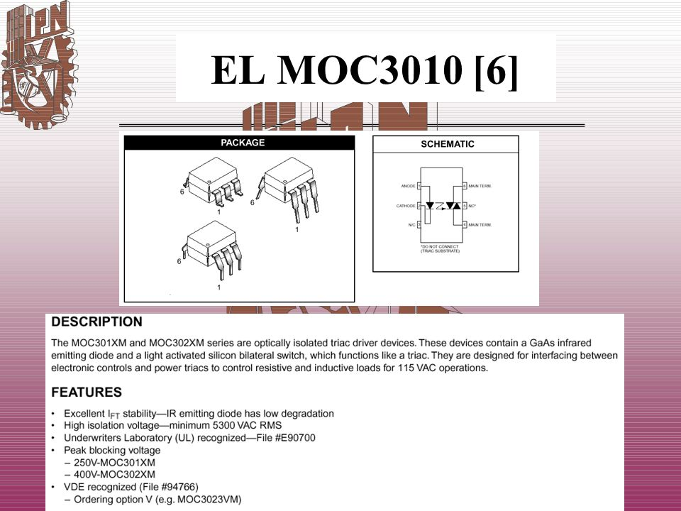 EL MOC3010 [6]